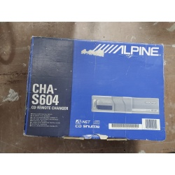 ALPINE CHA-S604 6-Disc CD Changer (Used)